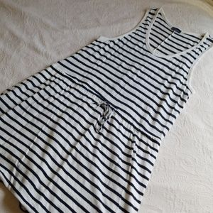 Navy Blue XL Linen Dress XL NWOT GAP